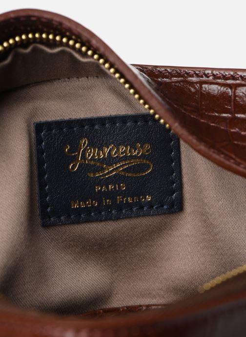 Handtassen Louvreuse MILO Bruin achterkant