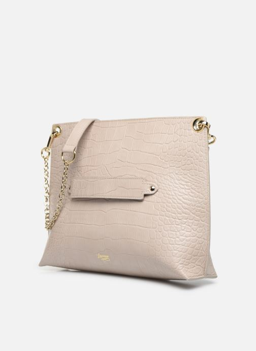 Handtaschen Louvreuse MILO beige schuhe getragen