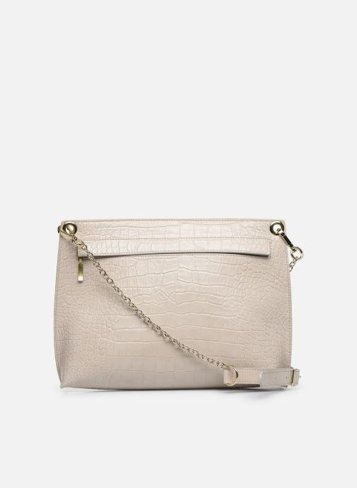 Handtaschen Louvreuse MILO beige ansicht von vorne