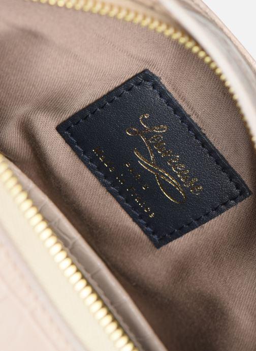 Handtaschen Louvreuse MILO beige ansicht von hinten