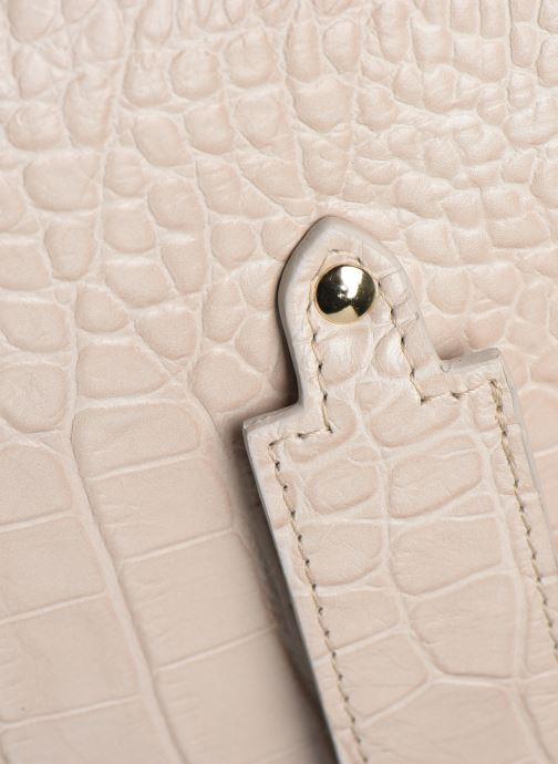 Handtaschen Louvreuse MILO beige ansicht von links