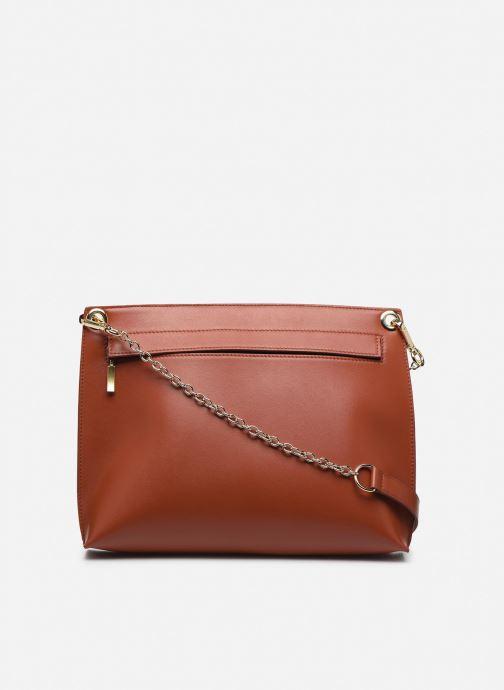 Handtaschen Louvreuse MILO braun ansicht von vorne