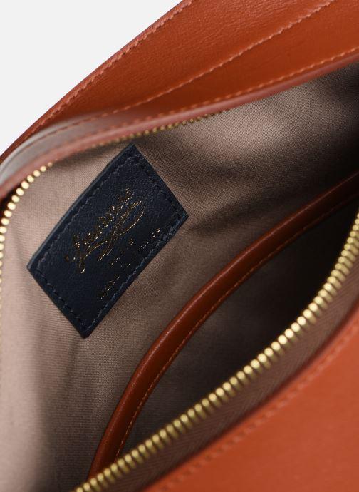 Handtaschen Louvreuse MILO braun ansicht von hinten