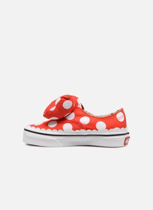 Sneaker Vans Authentic Gore E rot ansicht von vorne