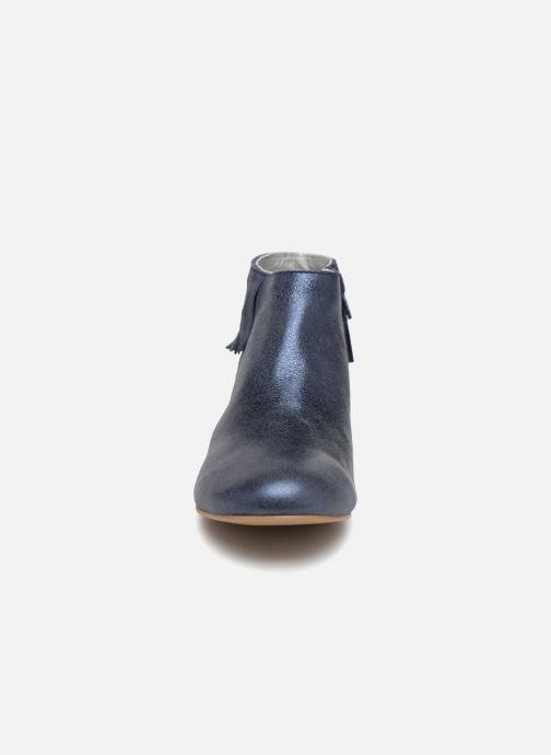 Bottines et boots Ippon Vintage DOLLY-MAGIC Bleu vue portées chaussures