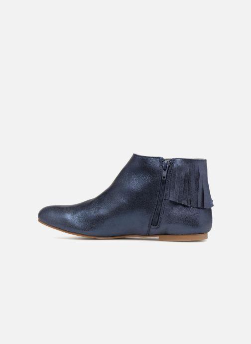Bottines et boots Ippon Vintage DOLLY-MAGIC Bleu vue face