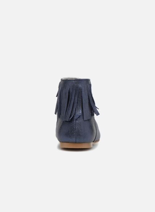 Bottines et boots Ippon Vintage DOLLY-MAGIC Bleu vue droite