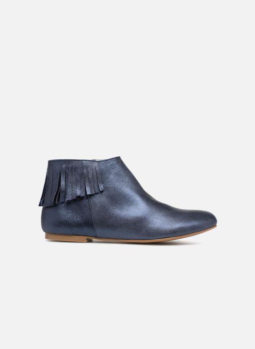 Bottines et boots Ippon Vintage DOLLY-MAGIC Bleu vue derrière