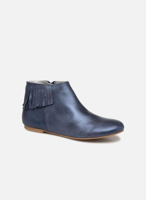 Bottines et boots Ippon Vintage DOLLY-MAGIC Bleu vue détail/paire