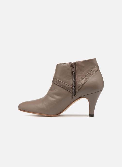 Stiefeletten & Boots Ippon Vintage ELIT-MAG braun ansicht von vorne