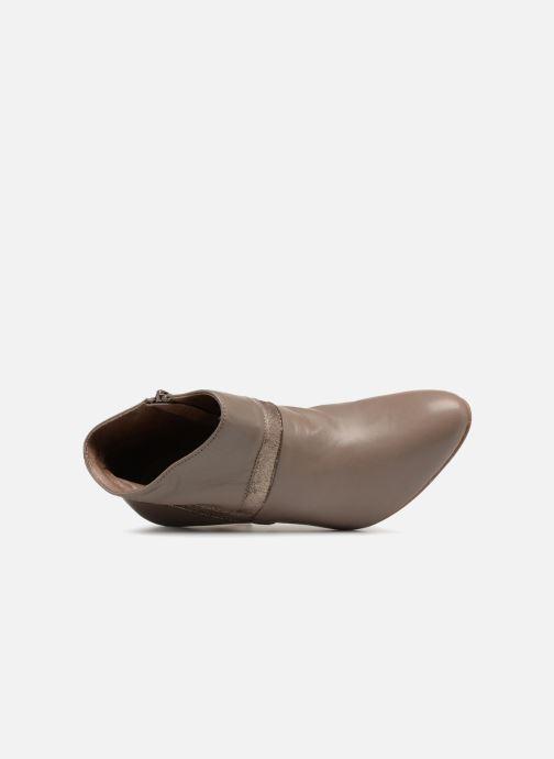 Stiefeletten & Boots Ippon Vintage ELIT-MAG braun ansicht von links