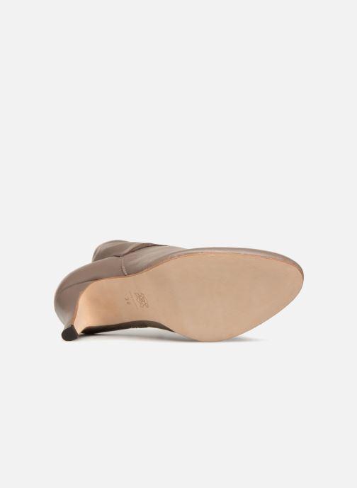 Stiefeletten & Boots Ippon Vintage ELIT-MAG braun ansicht von oben