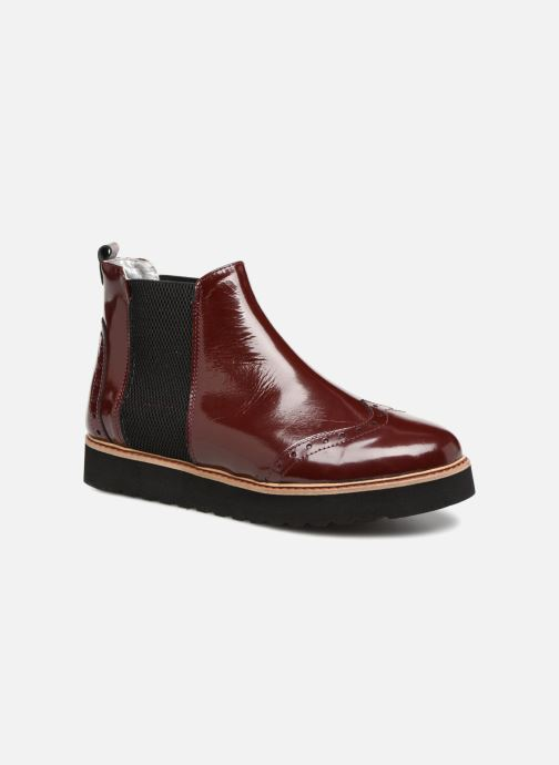 Bottines et boots Ippon Vintage HUNTER-THICK Bordeaux vue détail/paire