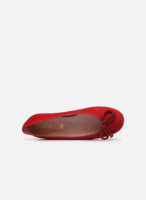 Ballerines Pretty Ballerinas ANGELIS Rouge vue gauche