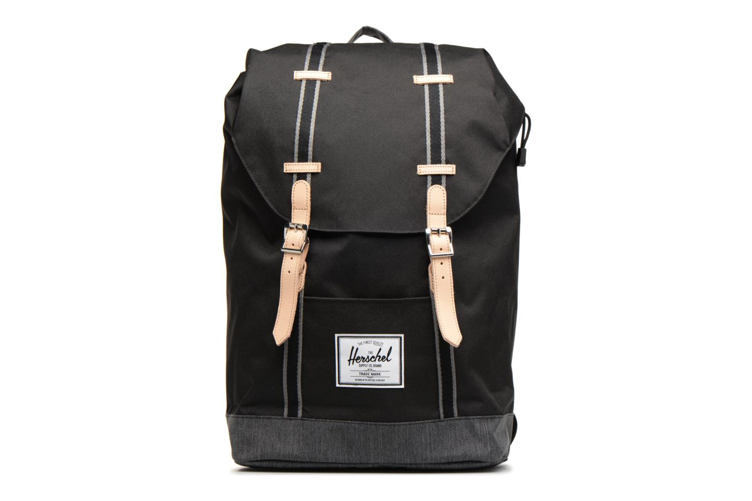 Black Denim Offset Herschel Retreat Black xtwqzW6Y