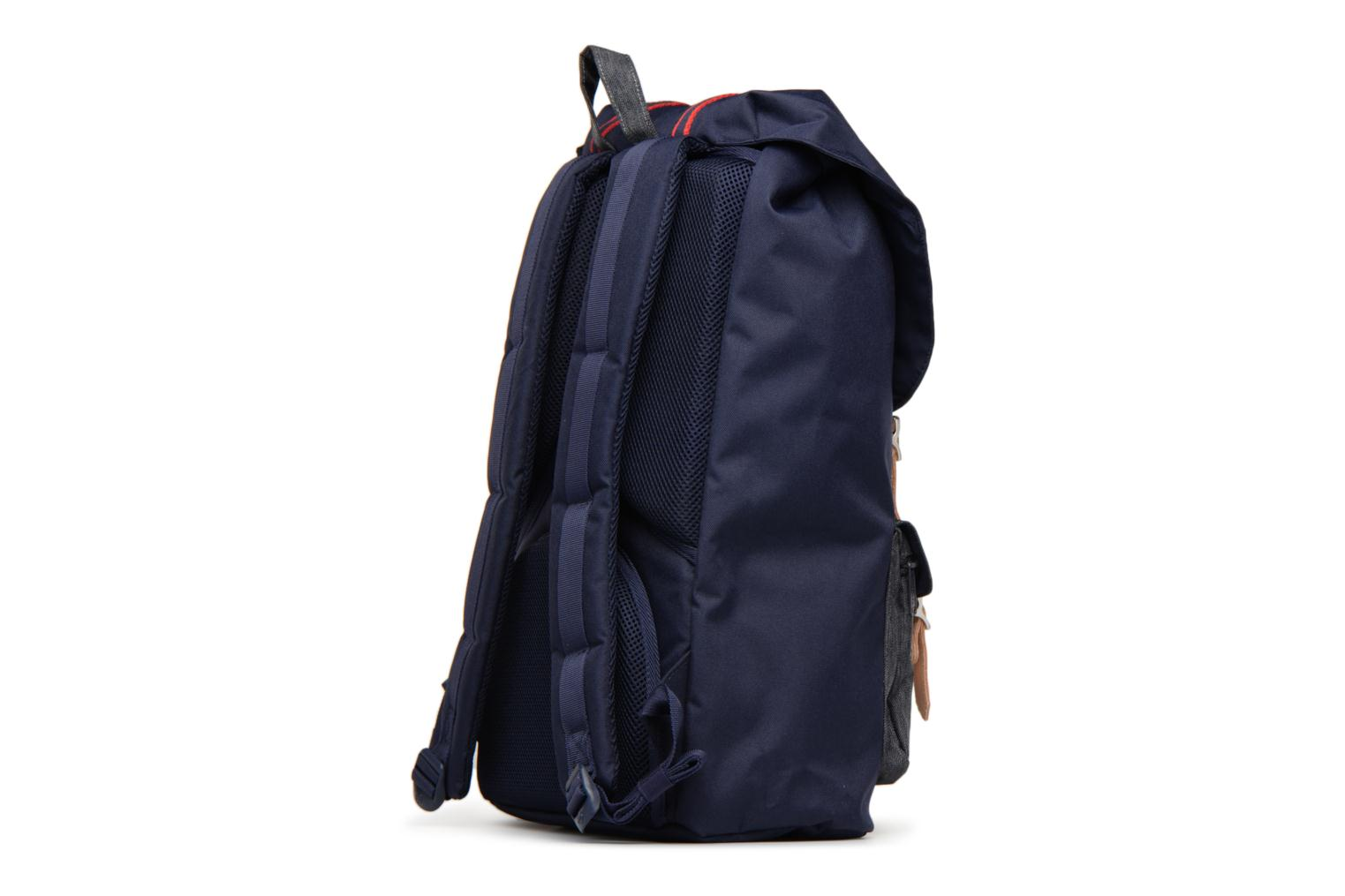 Offset Herschel America Dark Little Denim Peacot qr8wEzxWr