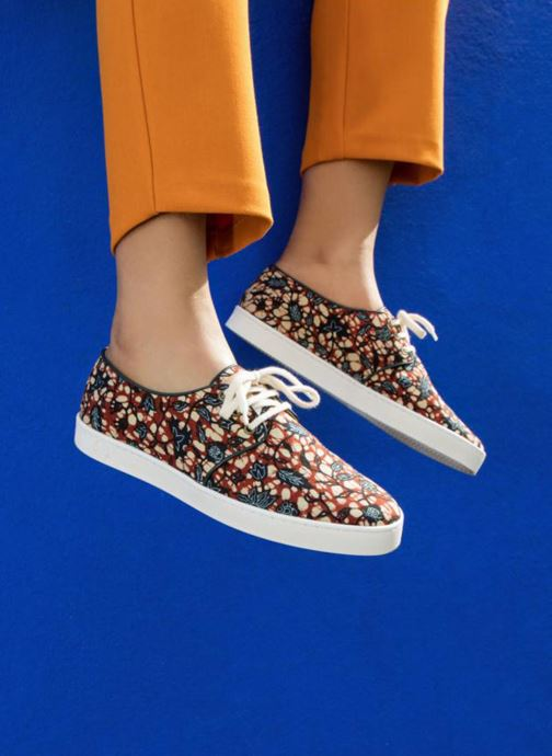 Sneaker Panafrica Oasis W SARENZA X PANAFRICA mehrfarbig ansicht von unten / tasche getragen