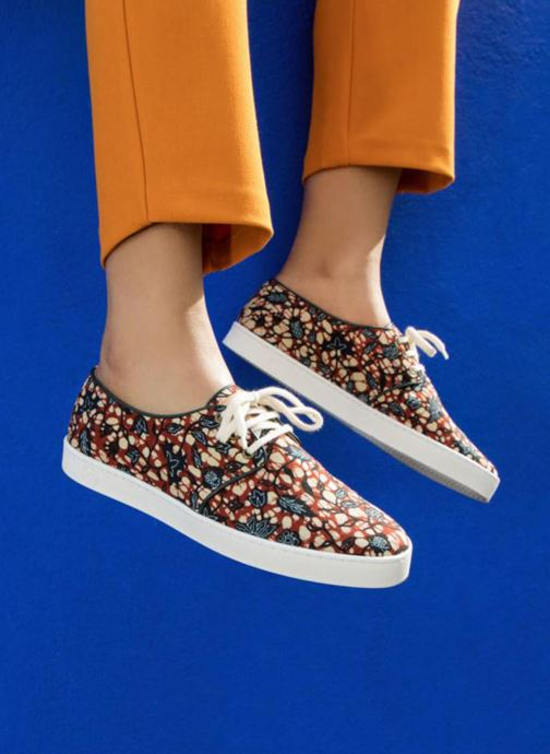 Trainers Panafrica Oasis SARENZA X PANAFRICA Multicolor view from underneath / model view