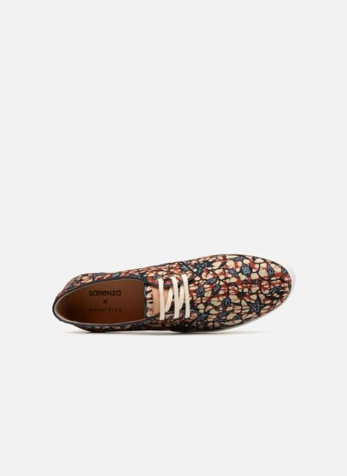 Baskets Panafrica Oasis SARENZA X PANAFRICA Multicolore vue gauche