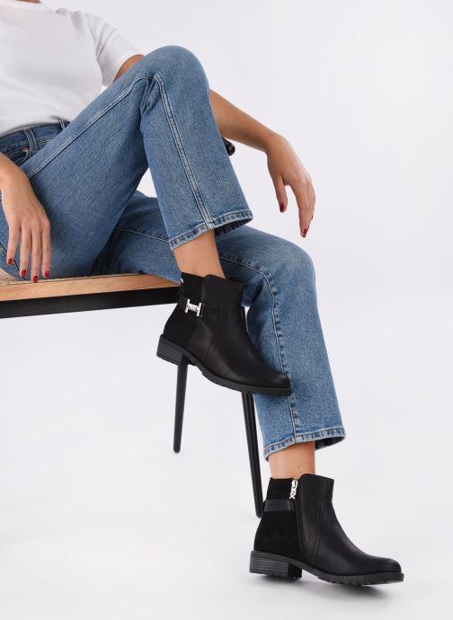 Stiefeletten & Boots Xti 33946 schwarz ansicht von unten / tasche getragen