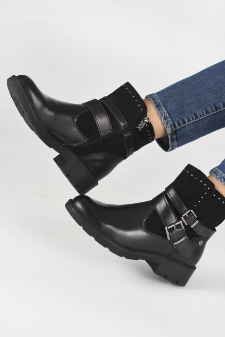 Bottines et boots Xti 48375 Noir vue bas / vue portée sac
