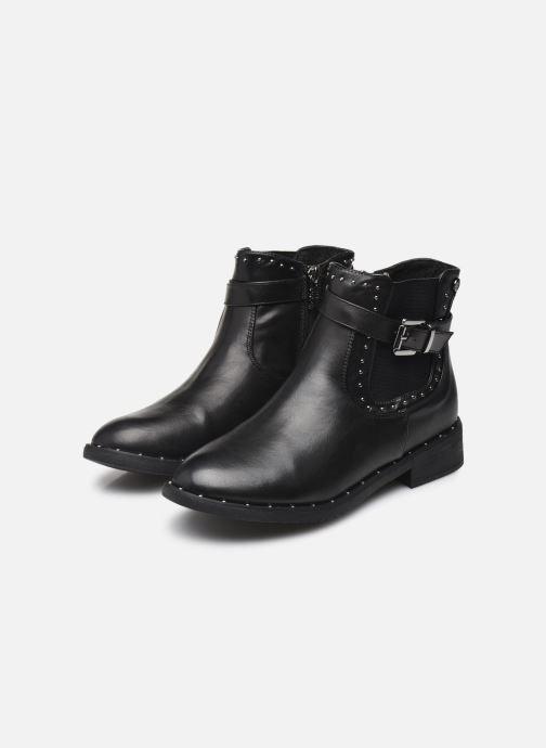 Bottines et boots Xti 48602 Noir vue bas / vue portée sac
