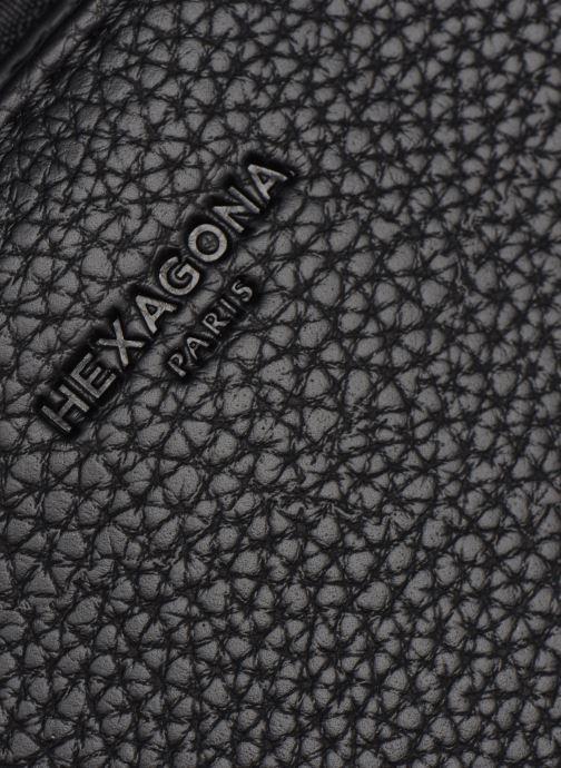 Sacs à main Hexagona MADRID PORTE MAIN Noir vue gauche