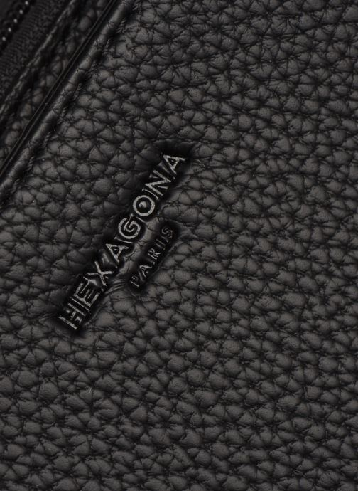 Handtassen Hexagona MADRID PORTE MAIN Zwart links
