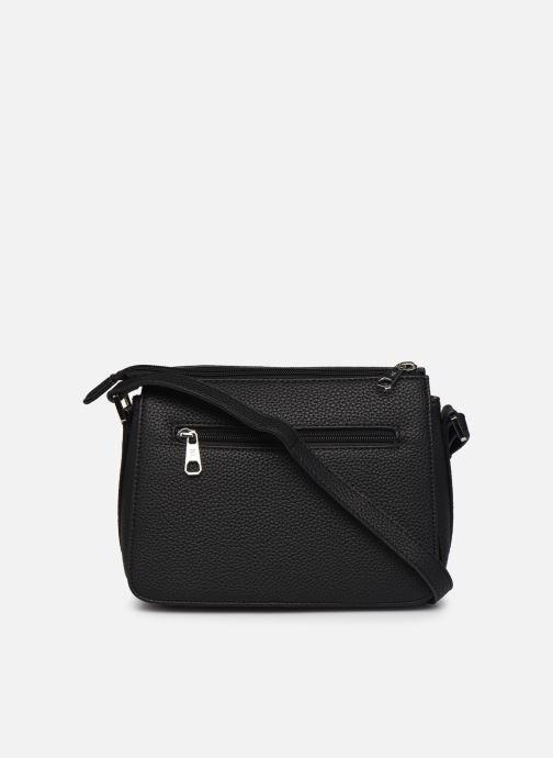 Handtaschen Hexagona MADRID CROSSBODY schwarz ansicht von vorne