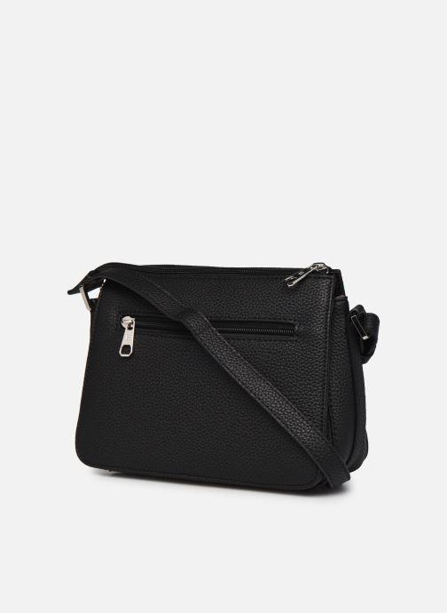 Handtaschen Hexagona MADRID CROSSBODY schwarz ansicht von rechts