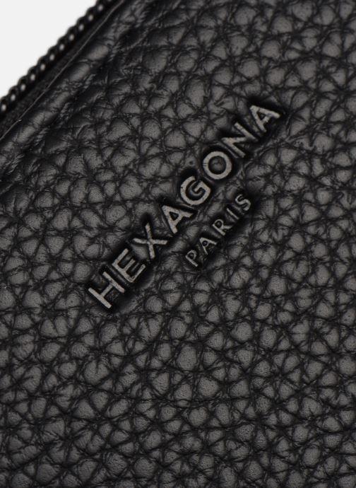 Handtaschen Hexagona MADRID CROSSBODY schwarz ansicht von links