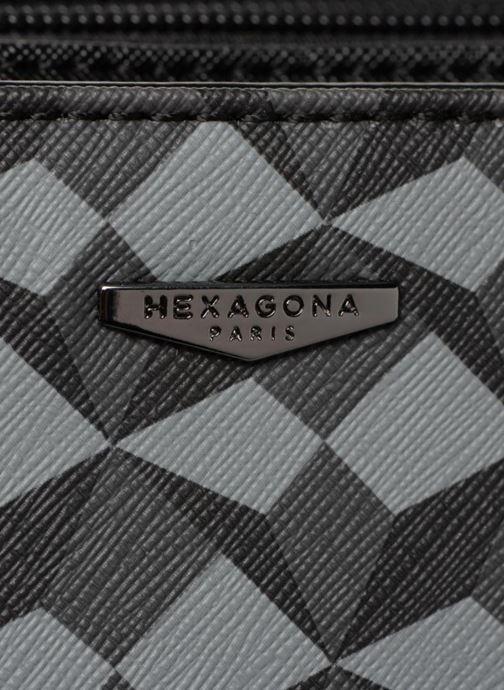 Geometric Main Hexagona grigio Porte 334034 Borse Chez 7q11ZOWa6n