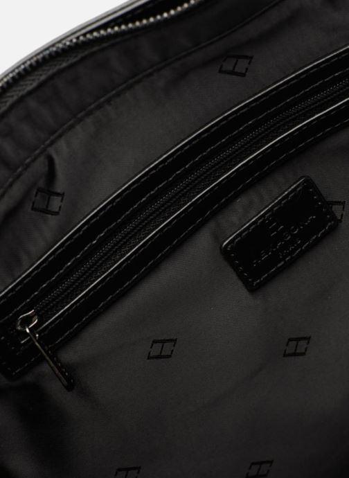 Handtaschen Hexagona ICONE CUIR CABAS ZIPPE schwarz ansicht von hinten
