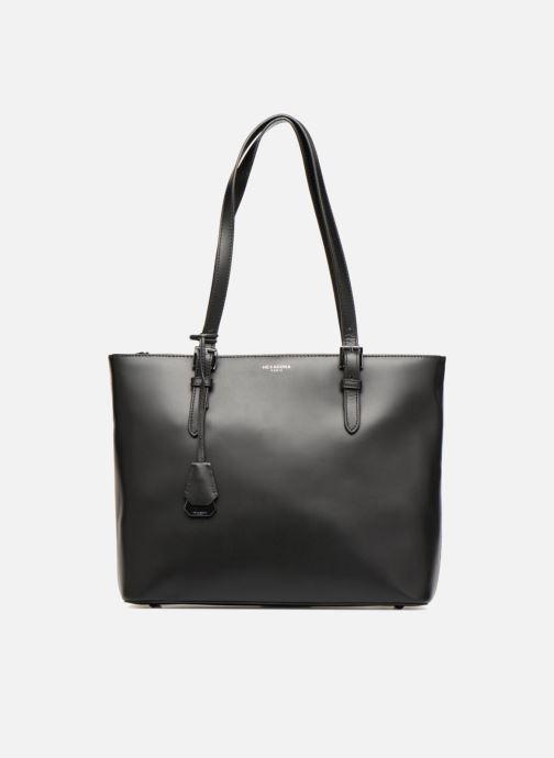 Handtaschen Hexagona ICONE CUIR CABAS ZIPPE schwarz detaillierte ansicht/modell