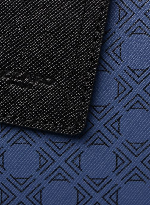 Sacs ordinateur Azzaro SQUAD PORTE-DOCUMENTS Bleu vue gauche