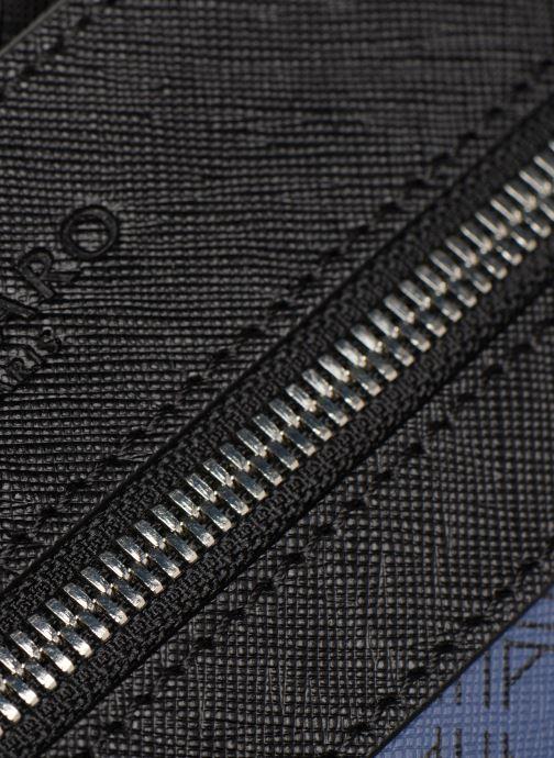 Herrentaschen Azzaro SQUAD CROSSBODY PLAT blau ansicht von links