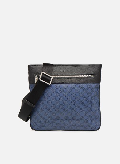 Herrentaschen Azzaro SQUAD CROSSBODY PLAT blau detaillierte ansicht/modell