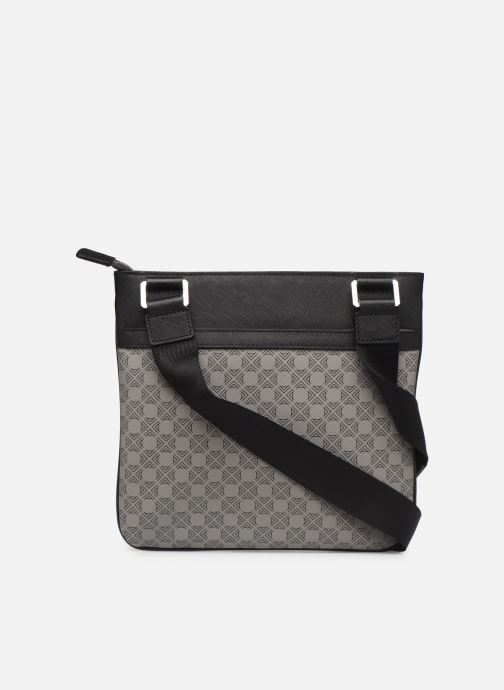 Men's bags Azzaro SQUAD CROSSBODY PLAT Grey front view