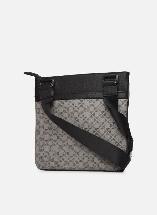 Men's bags Azzaro SQUAD CROSSBODY PLAT Grey view from the right
