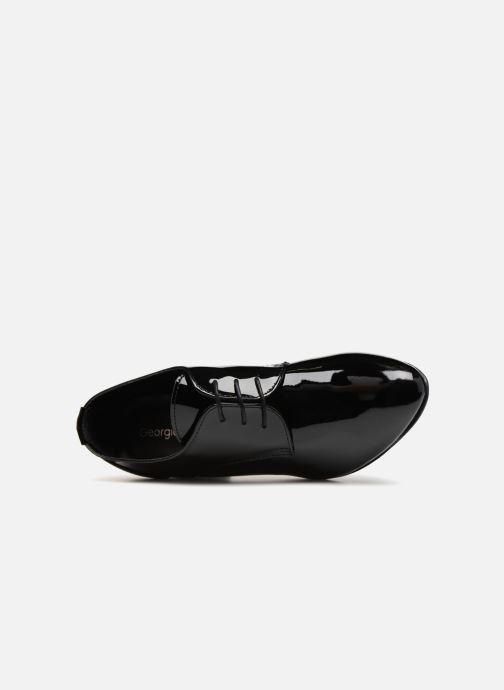 Chaussures à lacets Georgia Rose Lachica Noir vue gauche