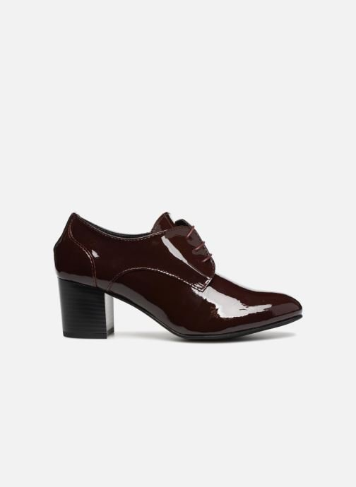 Zapatos con cordones Georgia Rose Lachica Vino vistra trasera