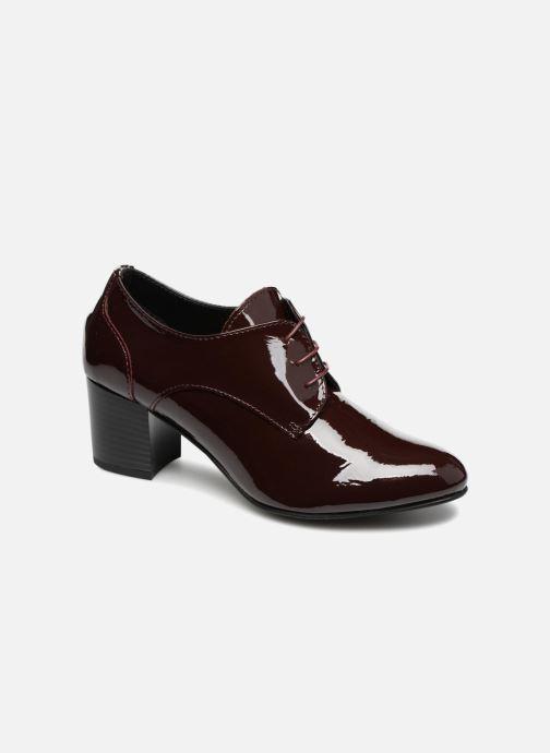 Chaussures à lacets Georgia Rose Lachica Bordeaux vue détail/paire