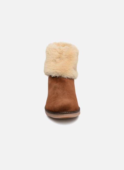 Bottines et boots Georgia Rose Lamouna Marron vue portées chaussures