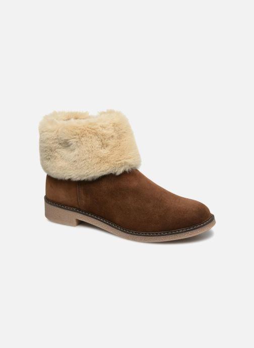 Bottines et boots Georgia Rose Lamouna Marron vue détail/paire