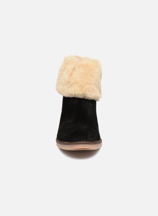 Bottines et boots Georgia Rose Lamouna Noir vue portées chaussures