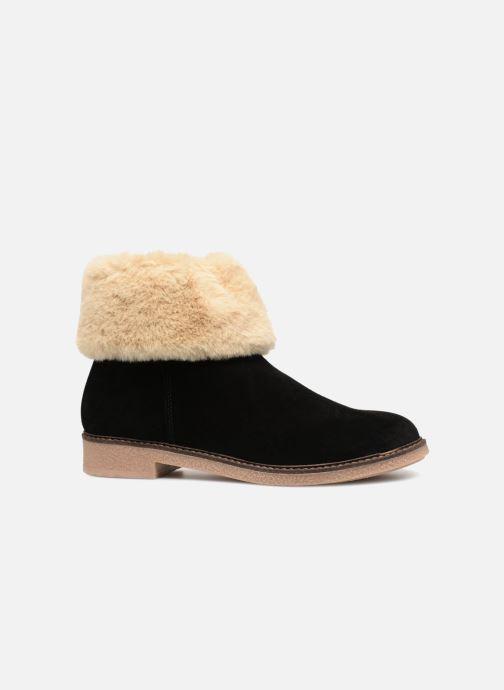 Bottines et boots Georgia Rose Lamouna Noir vue derrière