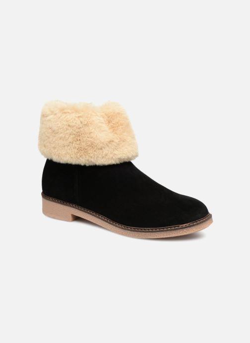 Bottines et boots Georgia Rose Lamouna Noir vue détail/paire