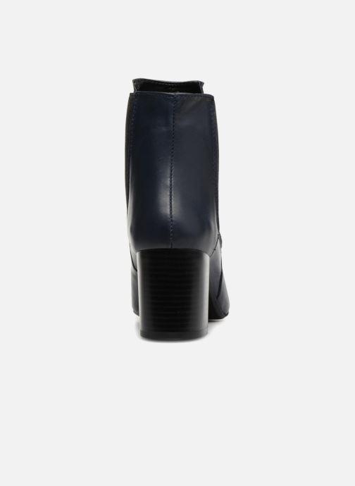 Bottines et boots Georgia Rose Labota Bleu vue droite