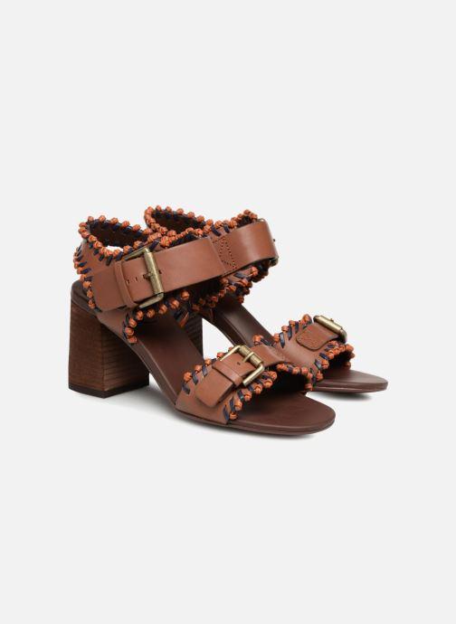 Sandales et nu-pieds See by Chloé Romy High Heel Marron vue 3/4