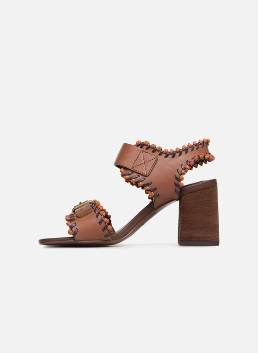 Sandales et nu-pieds See by Chloé Romy High Heel Marron vue face